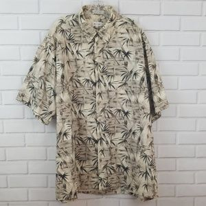 Pierre Cardin Tropical Cotton Hawaiian Shirt